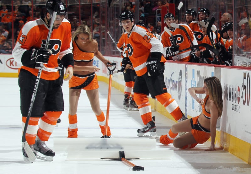On Second Thought The Flyers Will Bring Back Their Ice Girls