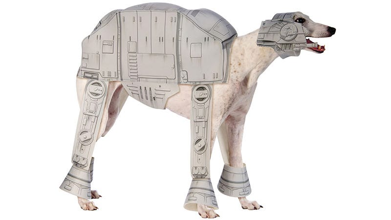 Illustration for article titled Does This AT-AT Costume Mean You Love or Hate Your Dog?