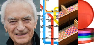 Illustration for article titled RIP Massimo Vignelli: The Iconic Designer Who Shaped a Century