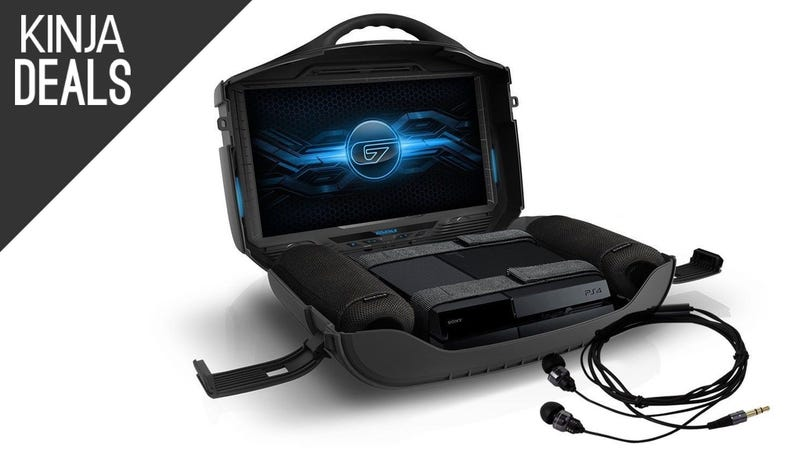 Illustration for article titled Take Your Favorite Console Anywhere With This Discounted GAEMS Suitcase