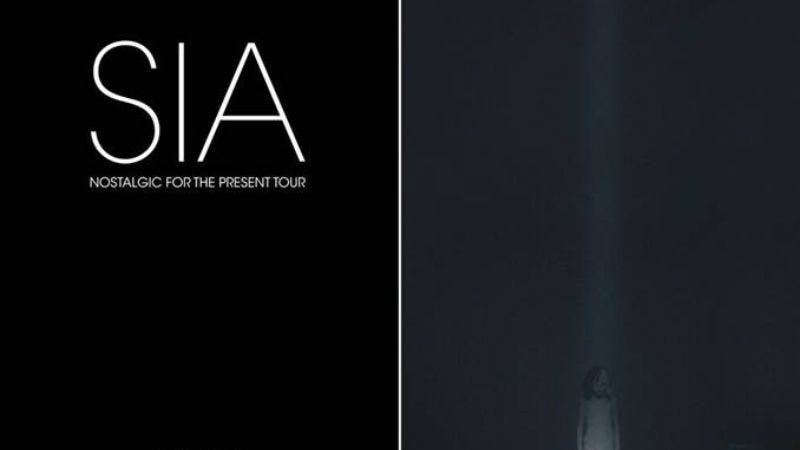 Illustration for article titled Sia announces North American tour, her first in 5 years