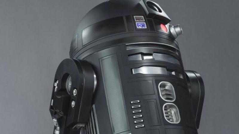 Illustration for article titled Rogue One introduces its evil R2, who just happens to be black