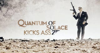 Illustration for article titled Quantum of Solace Is the Perfect Bond Movie