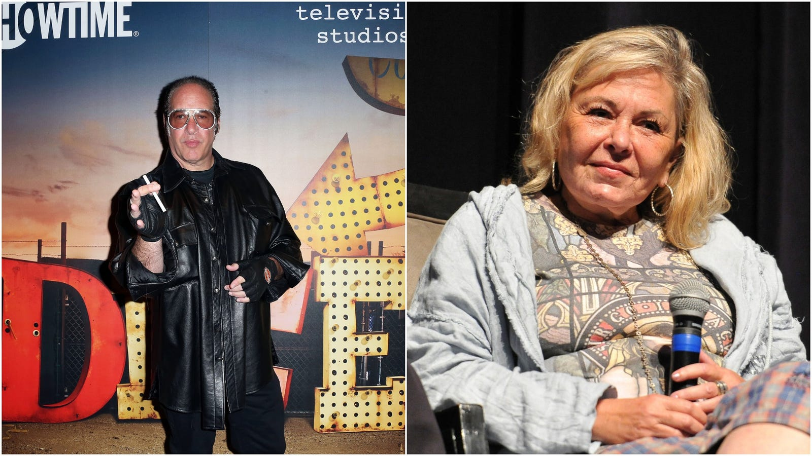 Roseanne Barr and Andrew Dice Clay announce new comedy tour, answering nobody's prayers