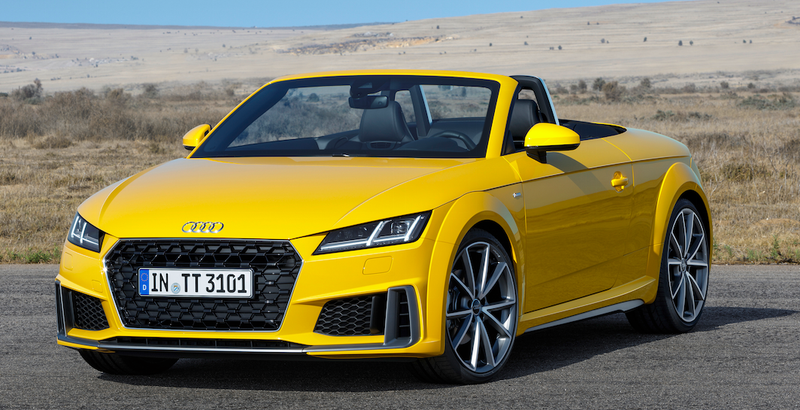 2019 Audi Tts Roadster All Images By