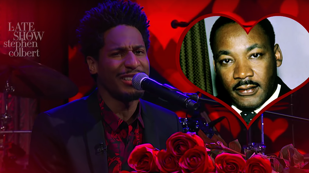 The Late Show's Jon Batiste sings us a Happy Valentine's Day Black History Month