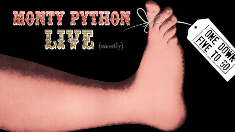 Illustration for article titled Enter to win a chance to see Monty Python Live (mostly) here in Chicago