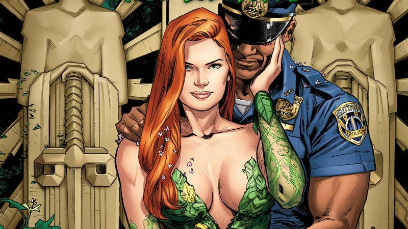 Illustration for article titled Exclusive DC preview: Poison Ivy gets caught in a plant-based murder mystery