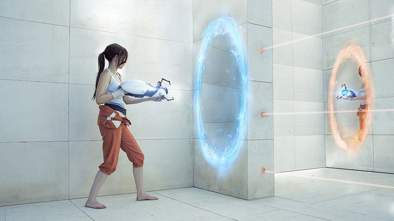 Illustration for article titled At The End Of The Experiment, This Portal Cosplay Will Be Baked