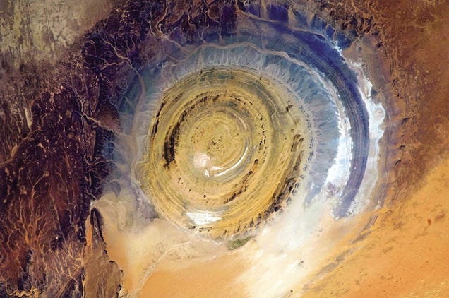 This Massive Spiral Structure in the Sahara Is Visible from Space