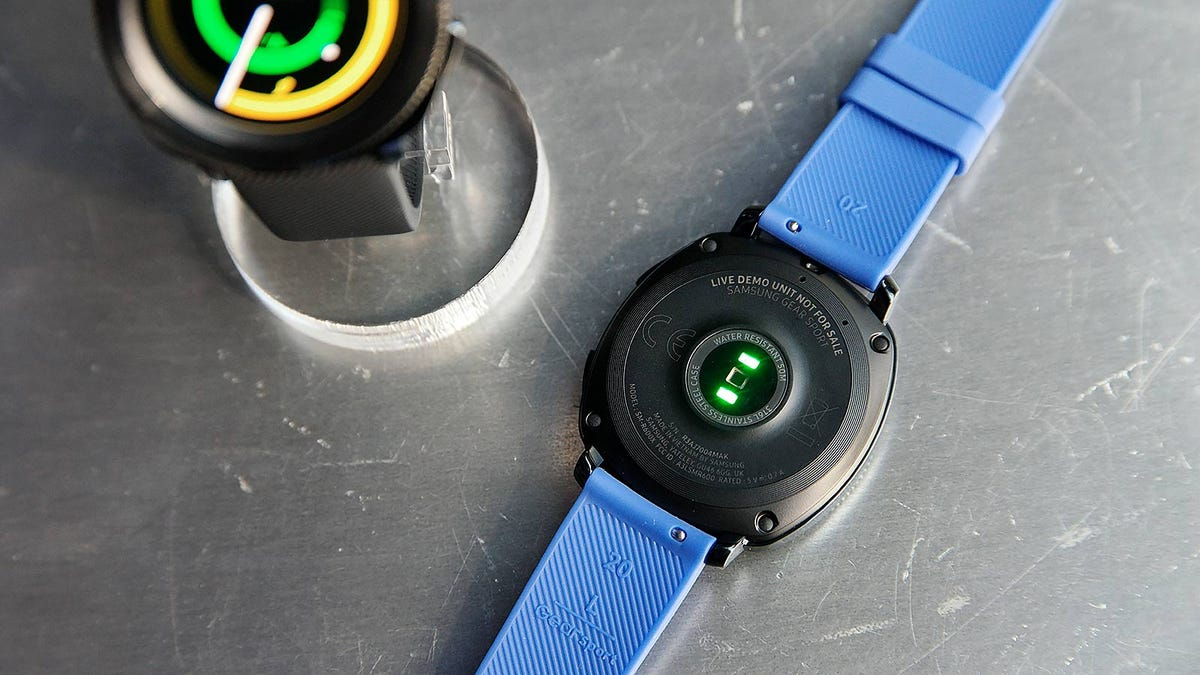 Samsung's New Water-Resistant Wearables Will Get You Laughed