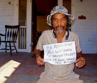 """Illustration for article titled """"Be Resilient"""": Katrina Survivors Talk to the Northeast"""