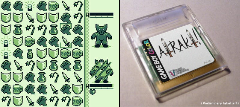 Illustration for article titled He's Making A New Game Boy RPG
