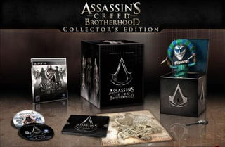 Illustration for article titled The $100 Assassin's Creed Brotherhood Collector's Edition Is Worth Every Penny