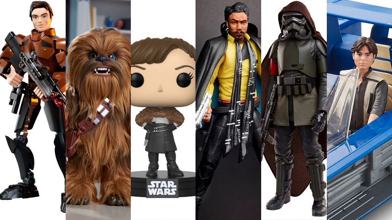 So many Solo: A Star Wars Story toys, so little time (and money).