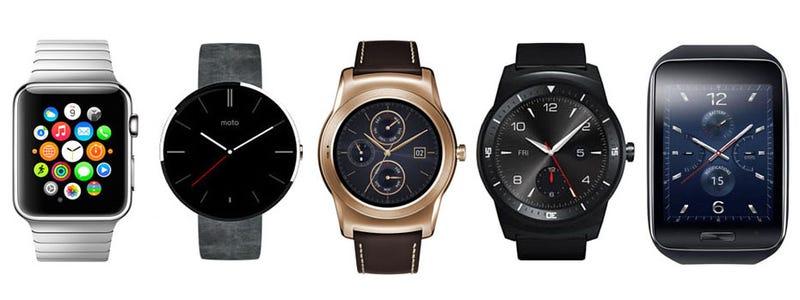 Comparativa: el Apple Watch frente a sus principales rivales