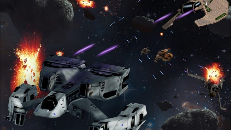 Illustration for article titled Classic Space Battle Sim FreeSpace Returns as a Tabletop Game