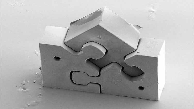 Illustration for article titled Este es el rompecabezas más pequeño y complejo del mundo