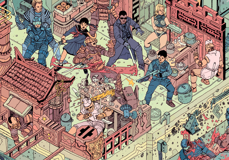 Illustration for article titled Find Adam Jensen In This Where's Waldo Of Sci-Fi Characters