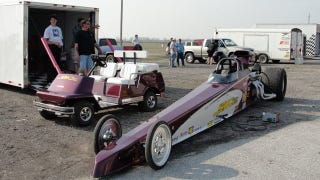 Illustration for article titled Thieves snatch teenagers' dragster before first race