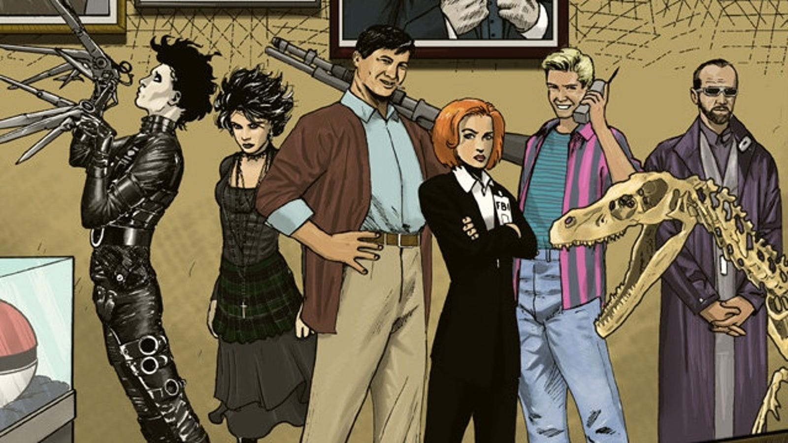 The League Of Extraordinary Gentlemen 1996 Would Include Dana Scully And Zack Morris