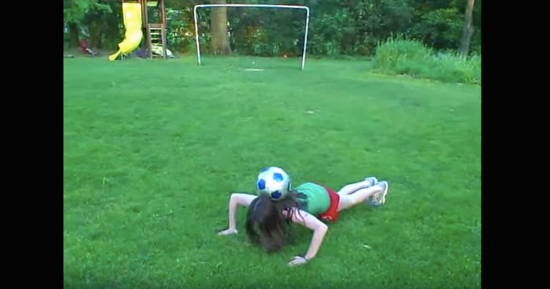 Today's Internet Artifact Is Tiny Rose Lavelle Doing Soccer Tricks