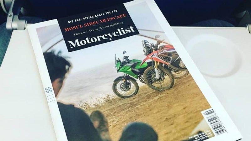 Illustration for article titled Motorcyclist Magazine Deserved Better