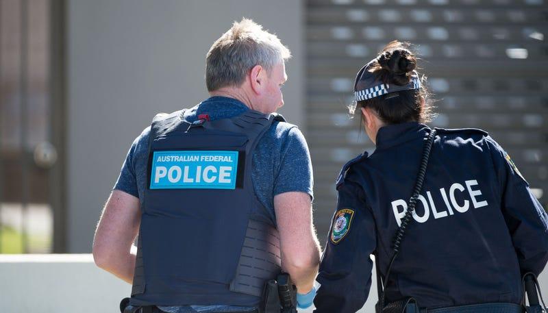 Policía Federal australiana. AP