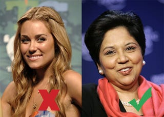 Illustration for article titled Why Do We Know Lauren Conrad & Not Indra Nooyi?
