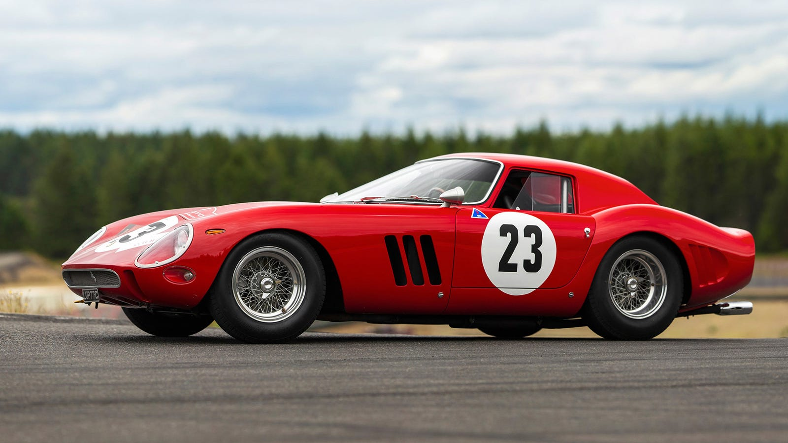 the most expensive car ever sold at auction is this 1962 ferrari 250 gto for 48 4 million. Black Bedroom Furniture Sets. Home Design Ideas