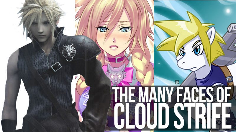 Illustration for article titled Cloud Strife is a Hero, a Lover, a Woman, a Rabbit; He is All This and More