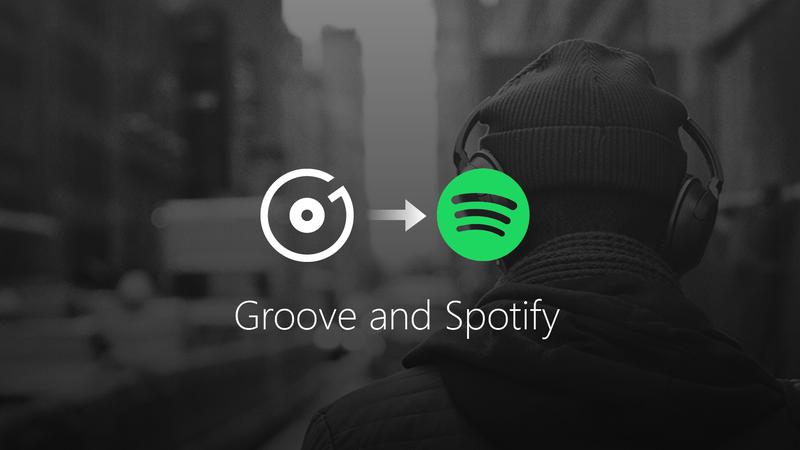Microsoft is giving up on Groove Music, transfers users to Spotify
