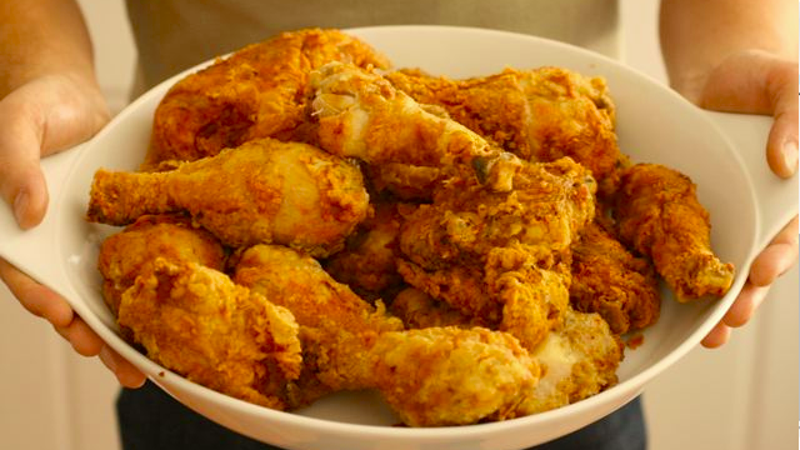 make foolproof fried chickenprecooking it before frying