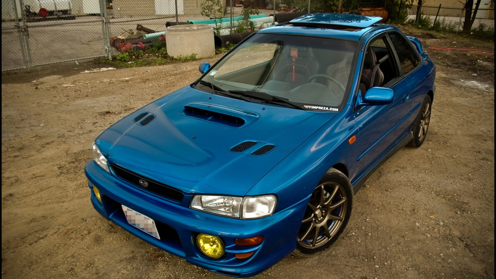 Five Reasons You Need To Buy A Subaru Impreza 2 5 RS Right Now