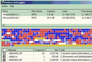 Illustration for article titled Defrag Individual Files with Defraggler