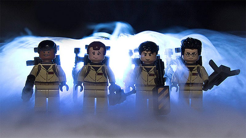 Illustration for article titled LEGO Ghostbusters. Yes Please.