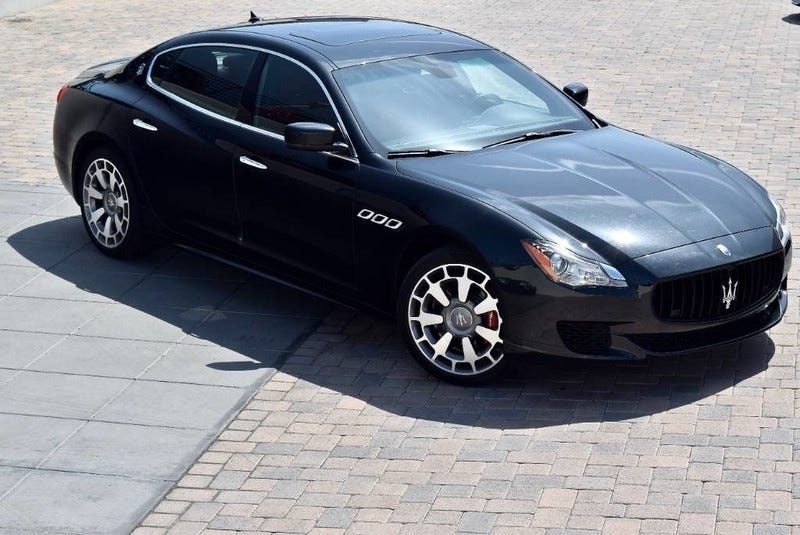 Illustration for article titled After Five Years, the $140,000 Maserati Quattroporte GTS is Now Under $40,000
