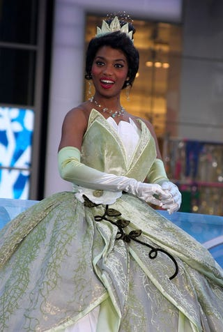 Illustration for article titled Princess Tiana Is Sooo Happy To See You