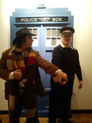 Illustration for article titled Sooooo... COSPLAY! Doctor Who style!