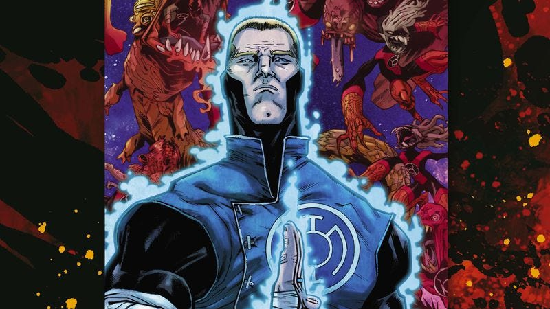 Illustration for article titled Exclusive DC preview: Guy Gardner undergoes a dramatic change in Red Lanterns: Futures End #1