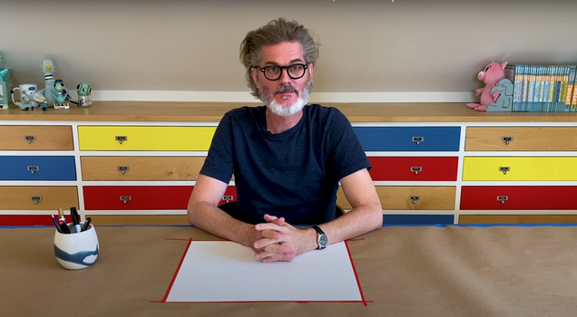 Mo Willems Will Doodle for Democracy Tonight