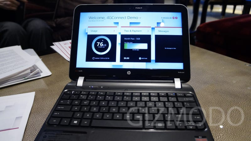 Illustration for article titled T-Mobile Is Giving Away Free Data When You Buy Certain Netbooks and Tablets