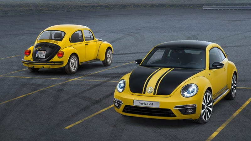 Illustration for article titled 2014 Volkswagen Beetle GSR And R-Line: Angry Bugs With Angry Names And Happy Faces