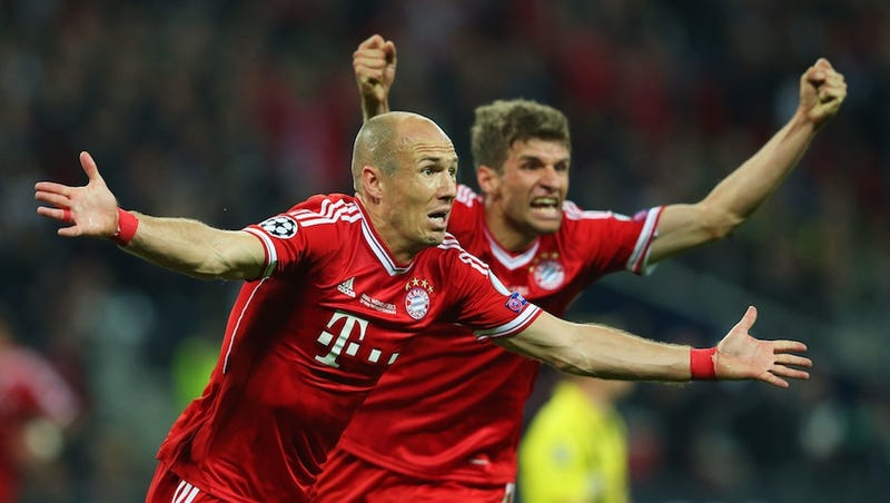 Illustration for article titled Arjen Robben Carries FC Bayern To Champions League Glory
