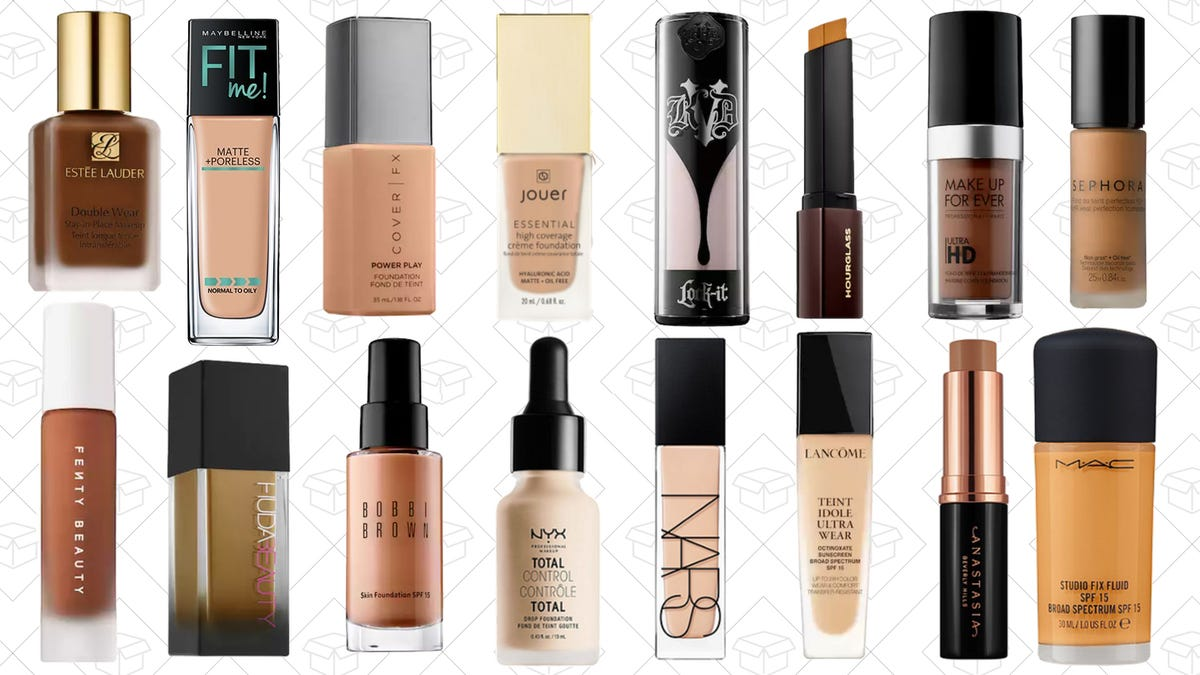 The Foundations That Have 30 Or More Shades
