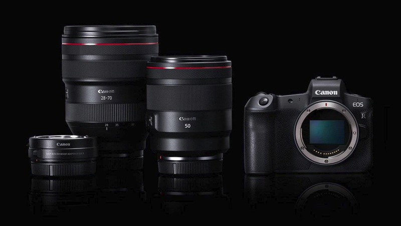 Illustration for article titled Canon Hits Back Hard Against Nikon and Sony With the New Full Frame Mirrorless EOS R