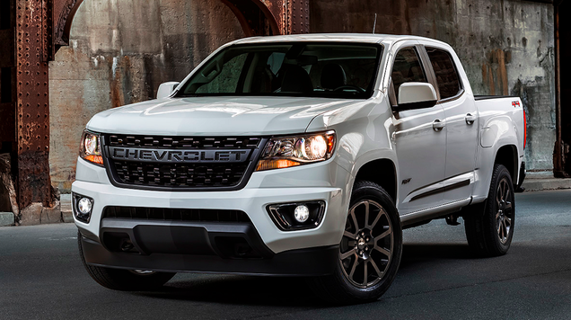 The 2019 Chevrolet Colorado Rst S Face Lets Everyone Know It S A