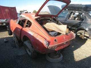 Illustration for article titled 1967 Triumph GT6 Down On The Junkyard