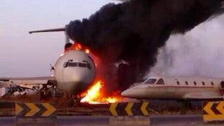 Illustration for article titled 90 Percent Of Planes Parked At Tripoli Airport Destroyed By Militias