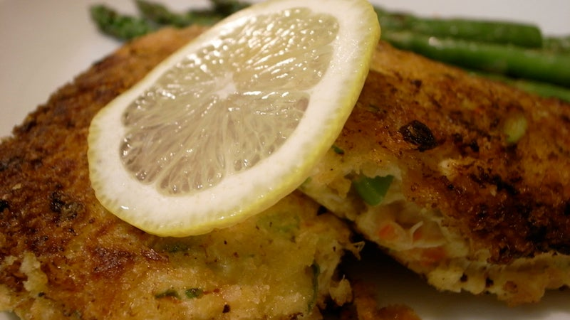 Make Fried Fish Cakes with Leftover Rice